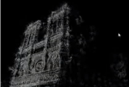 Notre Dame 3D model demonstrated by Blaise Aguera y Arcas